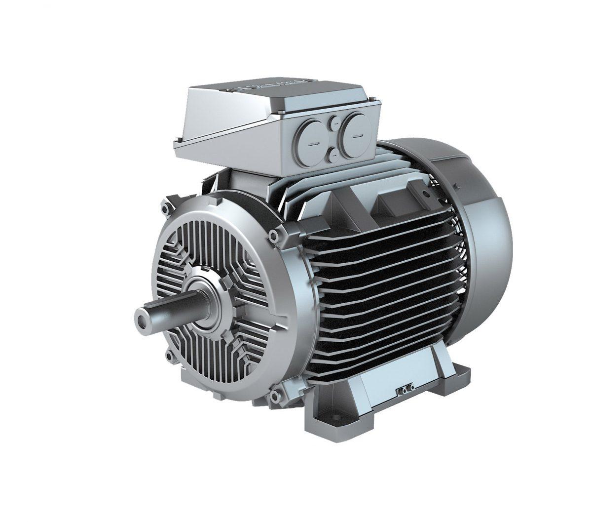 štandardné trojfázové elektromotory